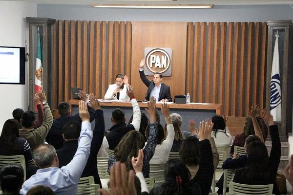 PAN Michoacán elige miembros de Comisión Permanente y Secretarías
