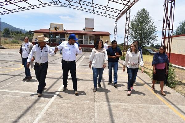Supervisa IIFEEM avance de obra en el Instituto Tecnológico Superior de Los Reyes