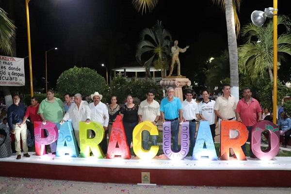 Es satisfactorio que la Sociedad Paracuarense participe en el desarrollo del Municipio: Huriel Bautista