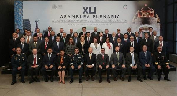 Participa Fiscal General en XLI Conferencia Nacional de Procuración de Justicia