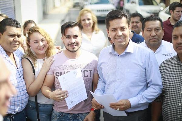 Antonio García recorre el Occidente de Michoacán
