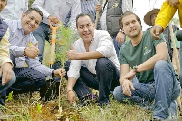 Avanza gran plan de reforestación para Michoacán: Carlos Herrera