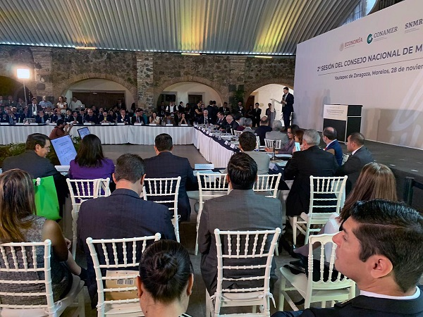 Michoacán, presente en el Consejo Nacional de Mejora Regulatoria