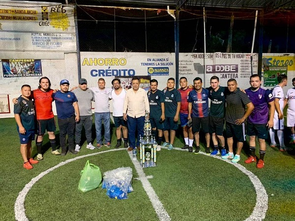 """Deshidratadora Campeón del Torneo de Fútbol Rápido Interdependencias """"Carlos Cerna"""""""