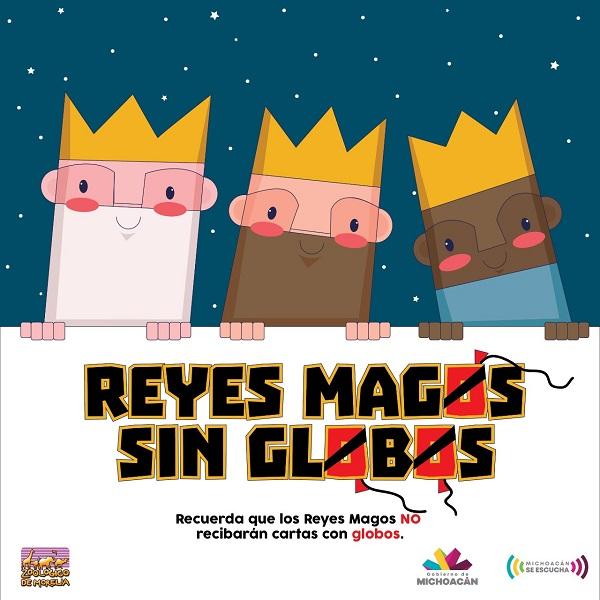 Los Reyes Magos, de visita en el Zoológico de Morelia el 5 y 6 de enero