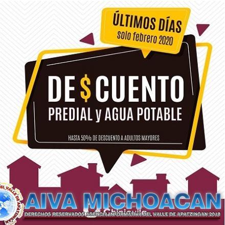Invitan en Chinicuila a pagar con descuento predial y agua potable