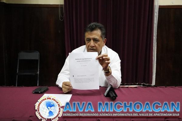 Alcalde recomienda suspender servicios no esenciales
