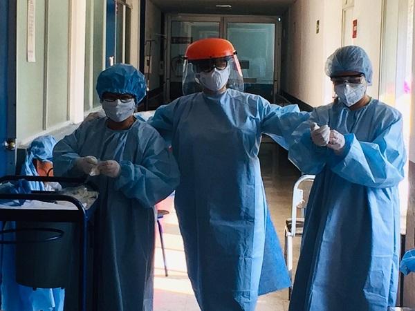 Tres pacientes superan COVID-19 en LC