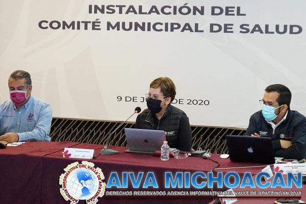 Instala SSM Comité Municipal de Salud en Morelia