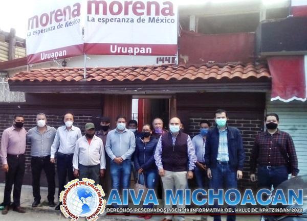 Convoca Morena Uruapan a la unidad y el diálogo propositivo
