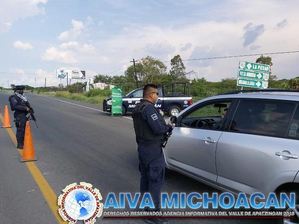 Con Bandera Verde, realiza SSP labores preventivas contra COVID-19 en La Piedad