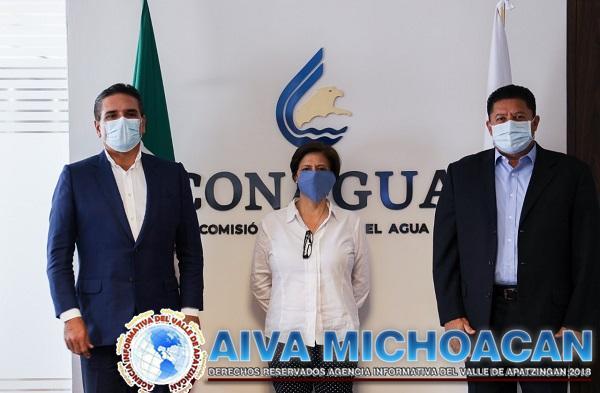 Invertir en obras hídricas garantiza un derecho humano: Silvano Aureoles