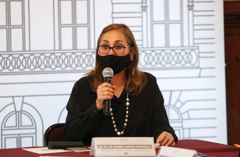Impulsa Cuquita Cabrera acciones para superar la pandemia