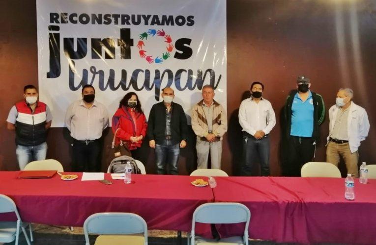 """Inauguran los """"Miércoles Amigos Sociales"""" en Reconstruyamos Juntos Uruapan"""