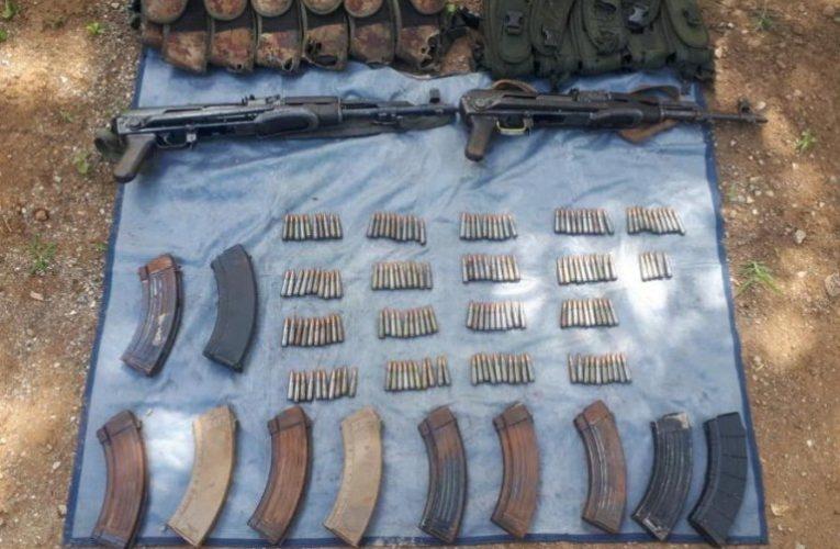 SSP, Sedena y GN detienen a dos con fusiles y 175 cartuchos útiles