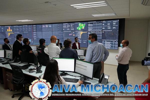 Centro de Inteligencia en Salud de Michoacán, ejemplo nacional de lucha contra COVID-19