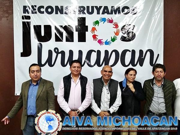 El reto es reconstruir Uruapan, pero sólo juntos lo podremos lograr: Rafa Ortiz