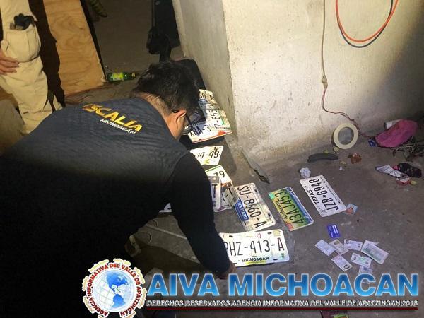 En cateo, asegura FGE inmueble relacionado en conductas ilícitas y recupera vehículo con reporte de robo