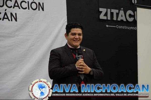 Franco apoyo de Toño Madriz al sector magisterial de Michoacán