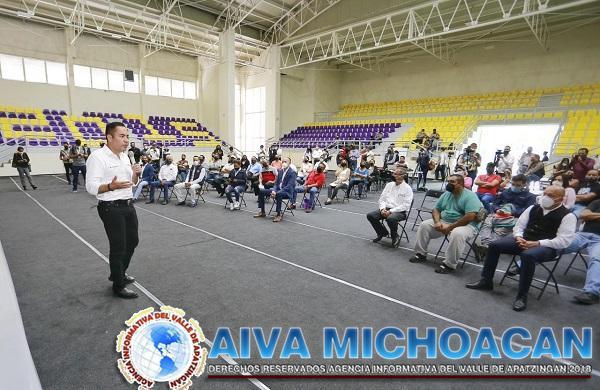 Gobierno estatal ha entregado créditos por 33 mdp al sector productivo de Uruapan: Carlos Herrera