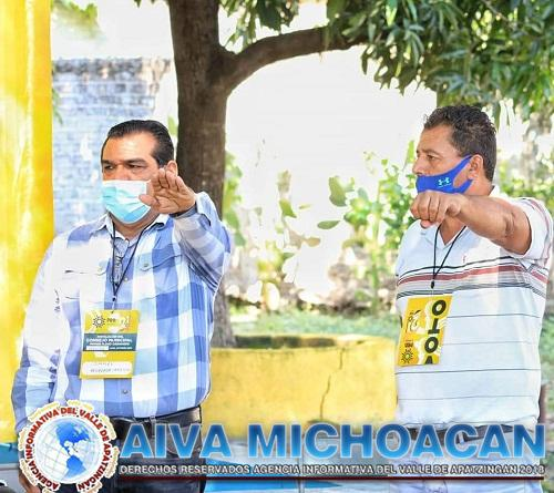 Ismael Quezada Carrillo asume la presidencia del Consejo Municipal del PRD en Múgica