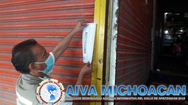 Suspenden Guardianes de la Salud nueve establecimientos en Múgica