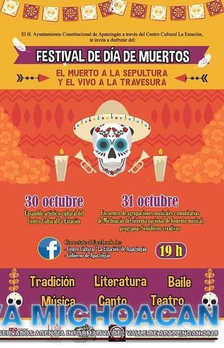 Festival virtual alusivo al Día de Muertos