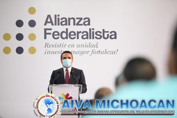Convoca Silvano al cierre de filas por la defensa de Michoacán y de México