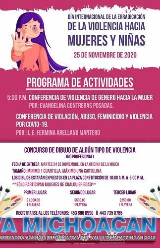 IMMA prepara concurso de dibujo para conmemorar Día Internacional de la Erradicación de la Violencia hacia la Mujer