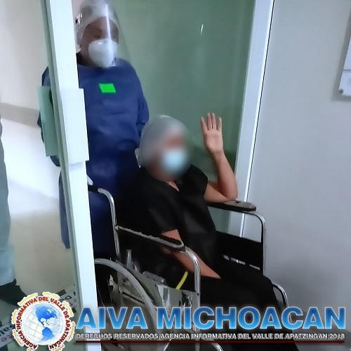 Registra el Hospital General de Apatzingán 81 egresos de área COVID-19