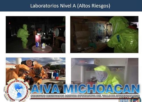 Se capacita FGE en materia de detección de drogas sintéticas