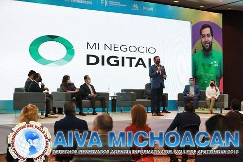 """Lanza Michoacán """"Mi Negocio Digital"""" en apoyo a Mipymes"""
