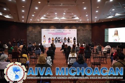 Presentan Manual de Comunicación en materia de Perspectiva de Género y Derechos Humanos