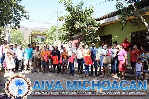 El Alcalde Rubén González continúa invirtiendo recursos propios en Obra Pública.