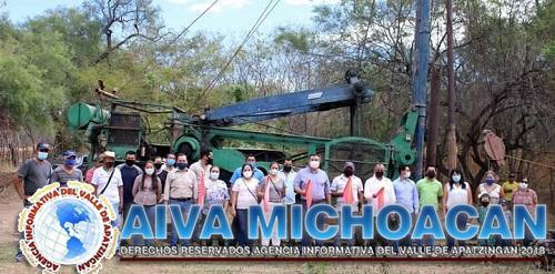 Arranca la construcción del pozo profundo en la comunidad de Oropeo.
