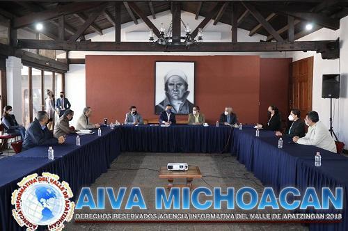 Acuerda Gobierno de Michoacán incremento salarial con el STASPE